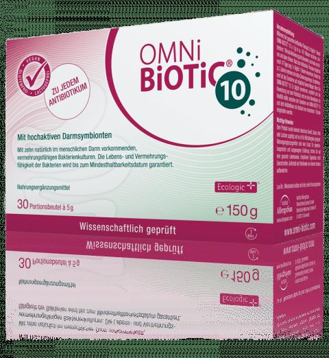 OMNi-BiOTiC® 10: Zu jedem Antibiotikum