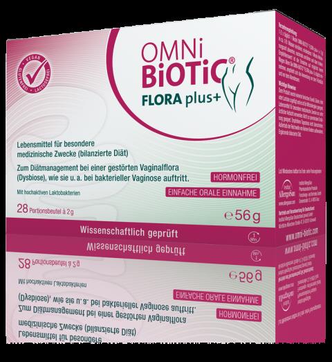 OMNi-BiOTiC® FLORA plus+: Endlich… Scheidenflora OK!