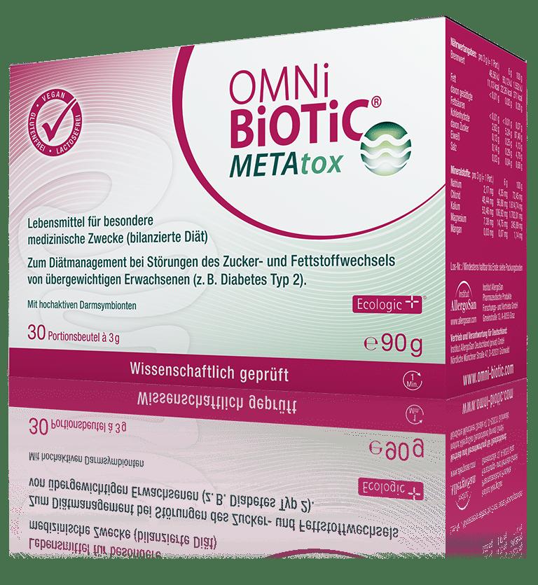 OMNi-BiOTiC® METAtox - Zucker- und Fettstoffwechsel im Griff