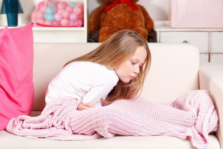 Gestresste Kinder und ihre Verdauung