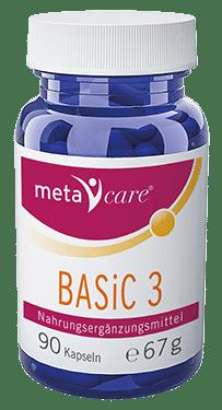 metacare® BASiC 3 – den Körper richtig entsäuern