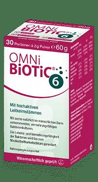 OMNi-BiOTiC® 6 – Darmflora aufbauen