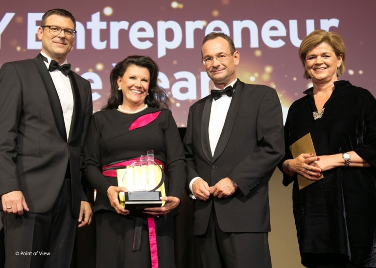 Mag. Anita Frauwallner ist EY Entrepreneur Of The YearTM 2019