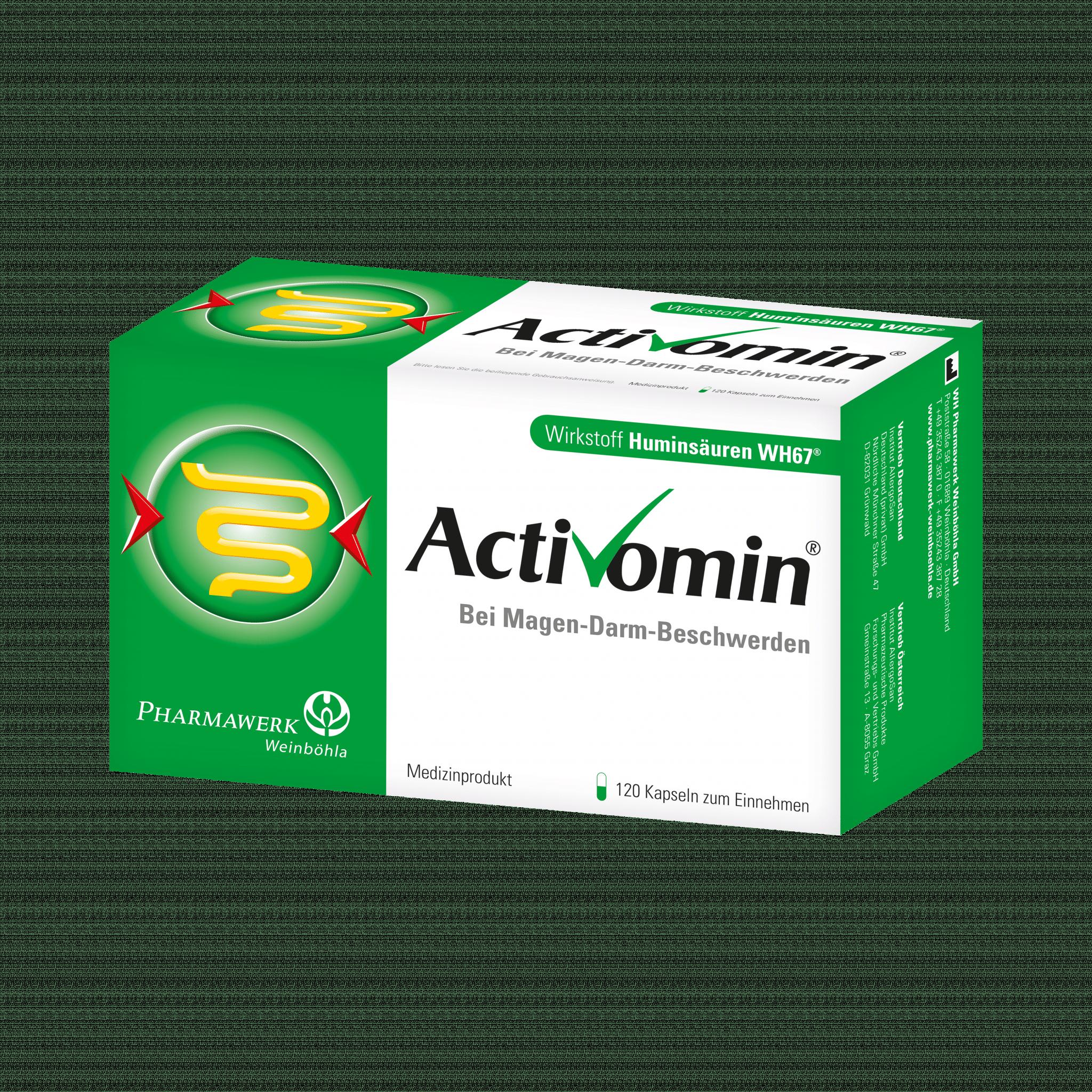Activomin® Natürliche Huminsäuren für Magen und Darm