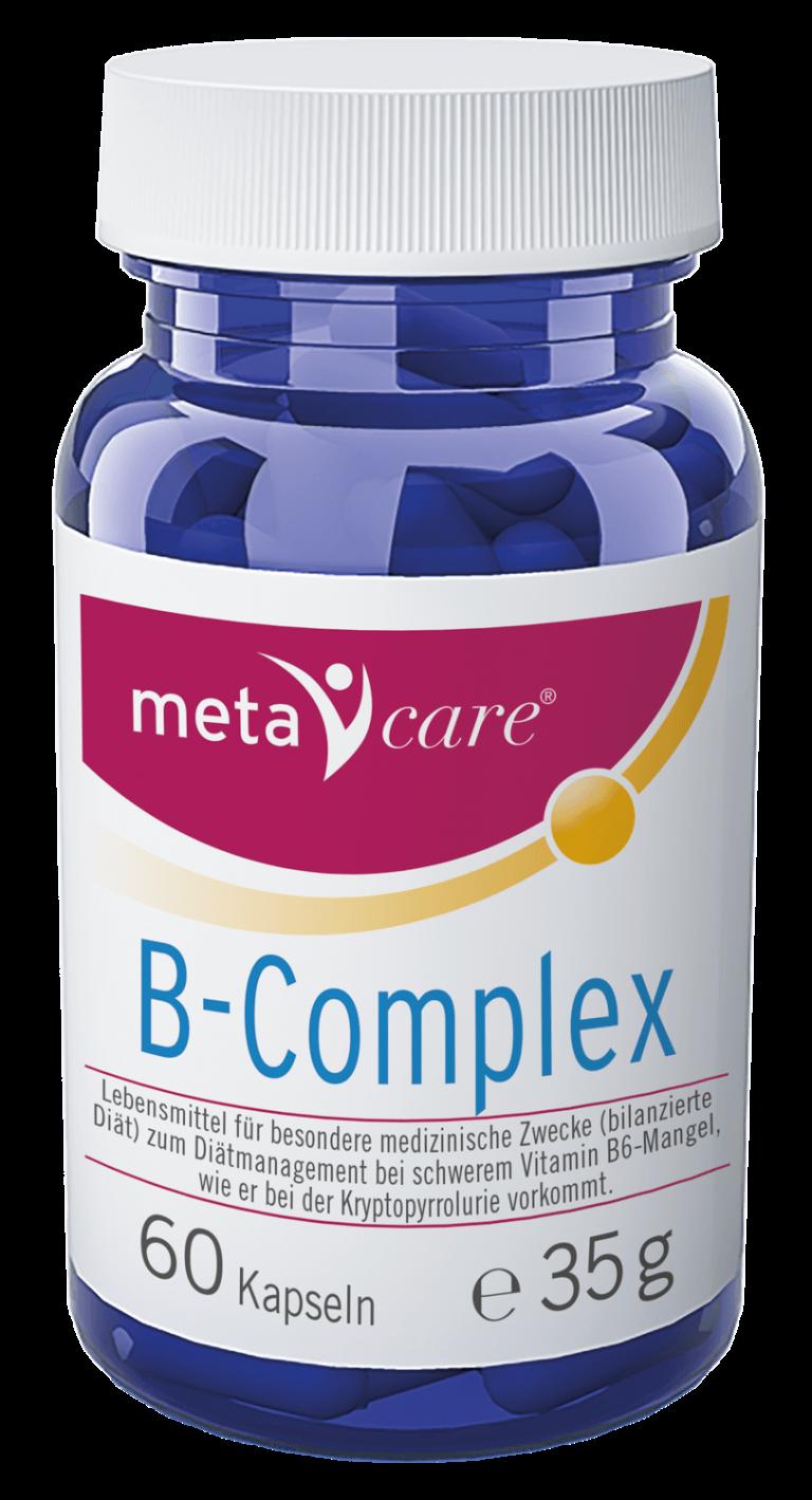 metacare® B-Complex Für Ihre Nerven