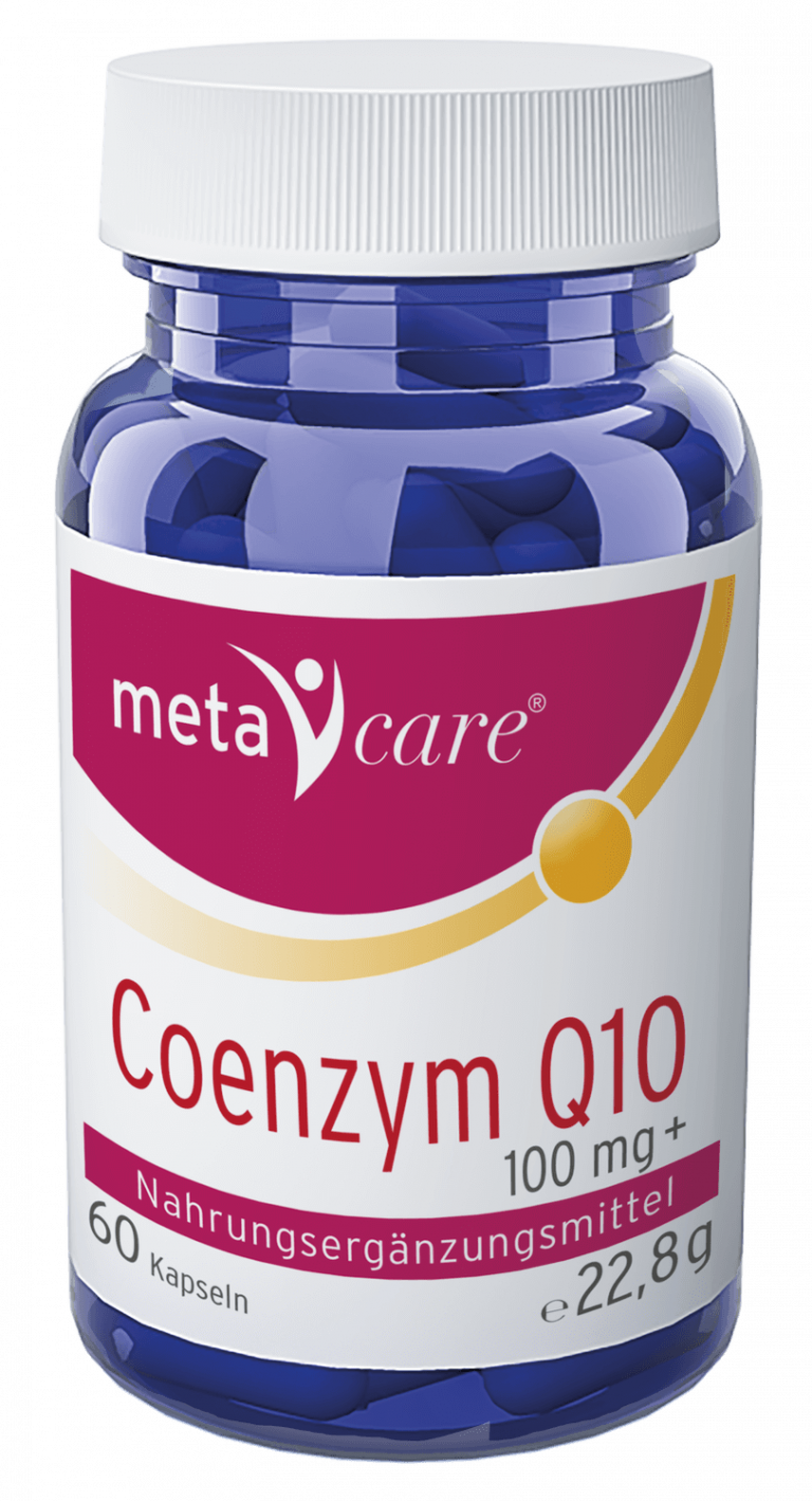 metacare® Coenzym Q10 Energie für Ihre Zellen