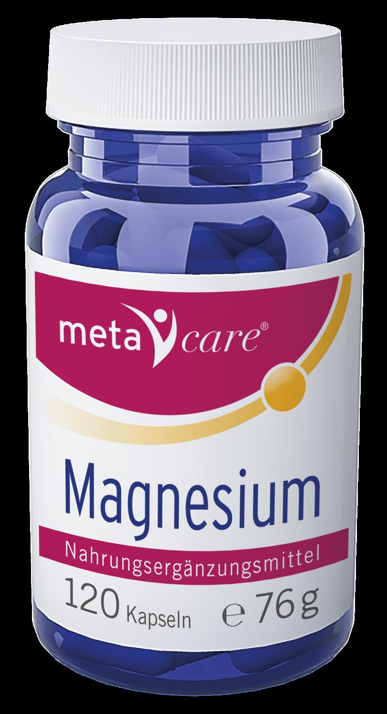 metacare® Magnesium Für mehr Energie