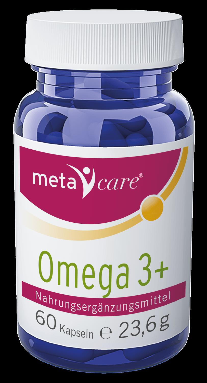 metacare® Omega 3+ Für Herz und Hirn
