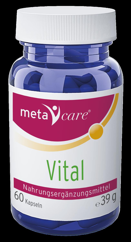 metacare® Vital Der Vitalitäts-Booster