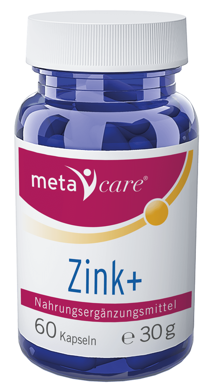 metacare® Zink+ Energy Booster für Haut und Haar