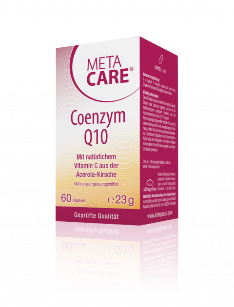 META-CARE® Coenzym Q10 Energie für die Zellen