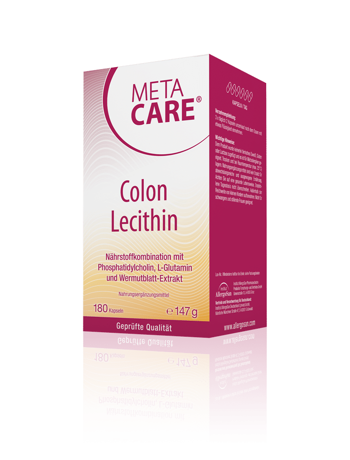 META-CARE® Colon Lecithin Erhaltung der Darmbarriere