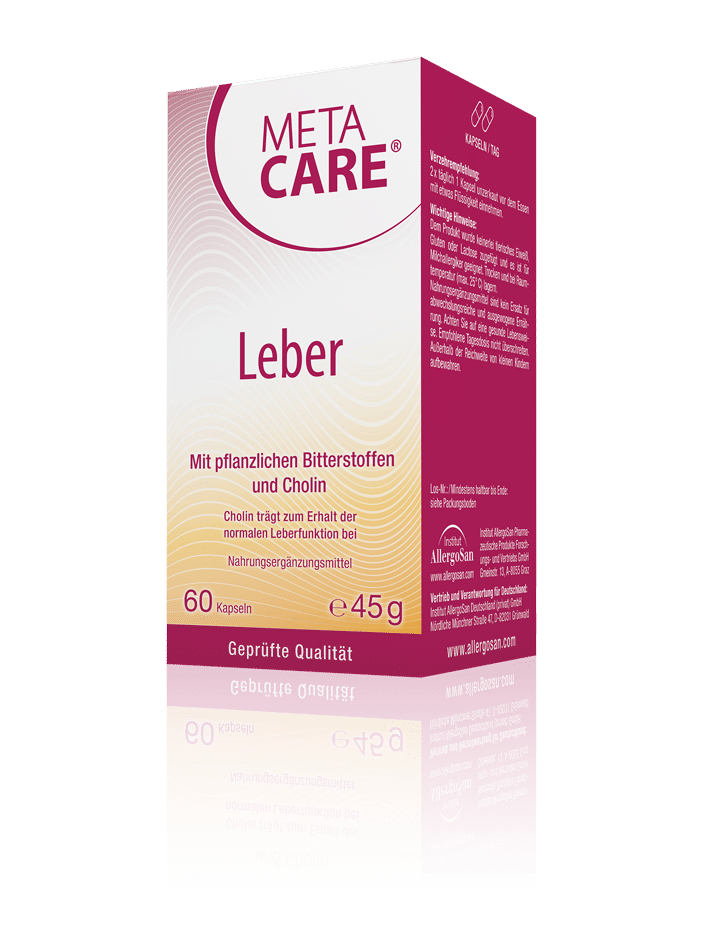 META-CARE® Leber Leber-Nährstoffe