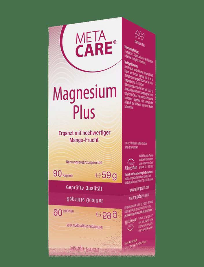 META-CARE® Magnesium Plus Muskeln & Energiestoffwechsel
