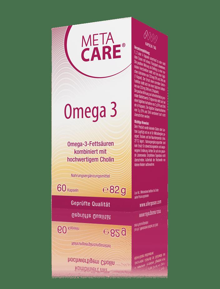 META-CARE® Omega 3 Herz, Leber & Blutfettwerte
