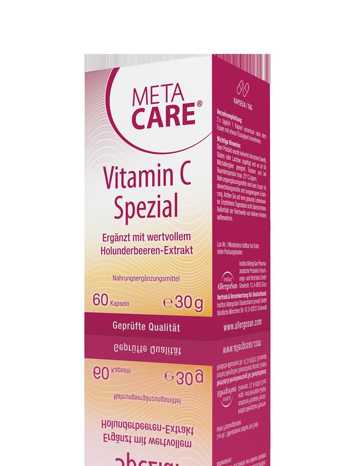 META-CARE® Vitamin C Spezial Magenfreundlicher Immunklassiker