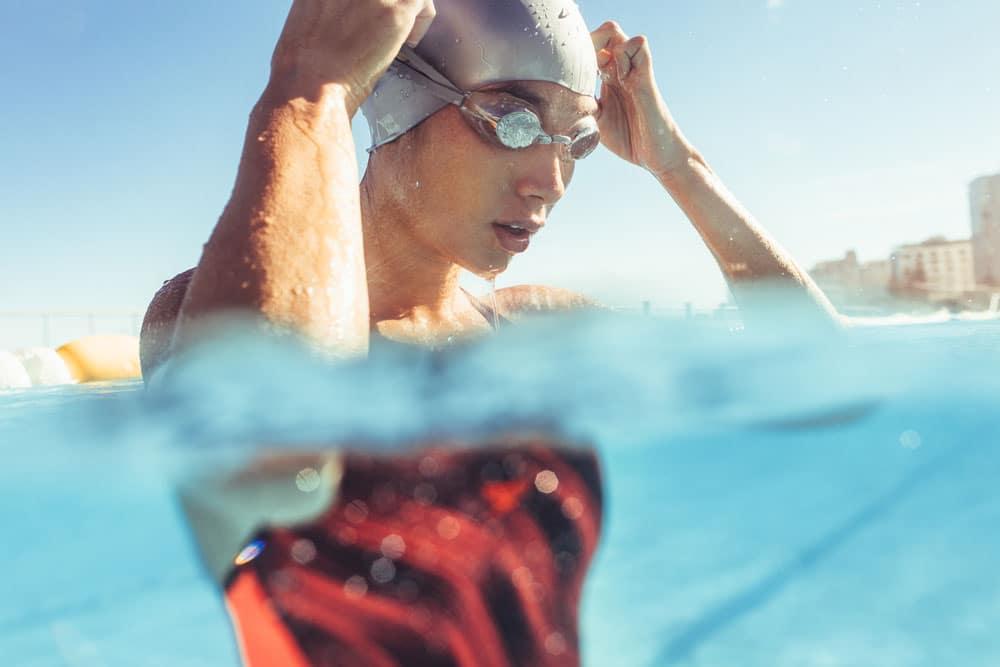 mit schwimmen muskeln aufbauen