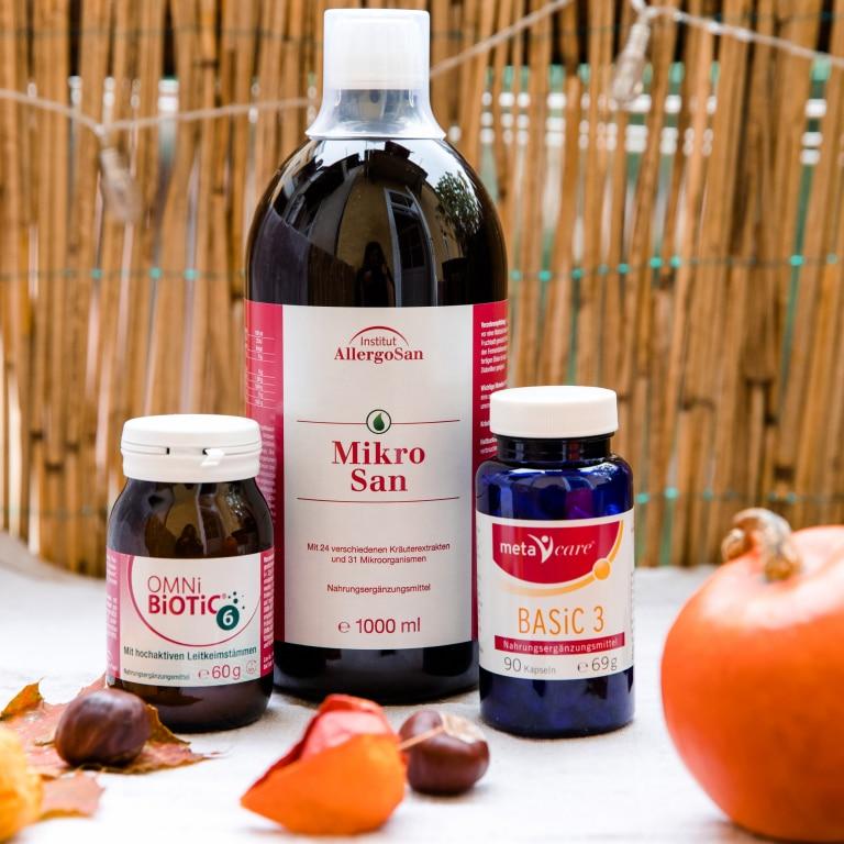 Machen Sie Ihren Darm fit für den Herbst!