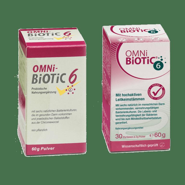 OMNi-BiOTiC® 6 alt und neu