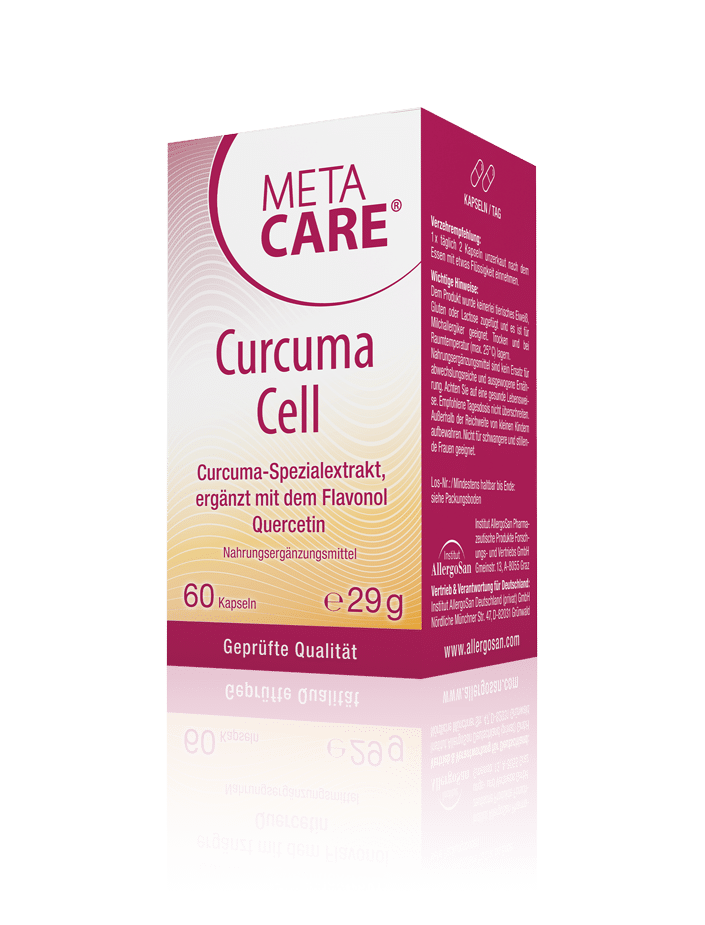 META-CARE® Curcuma Cell - Pflanzlicher Radikalfänger