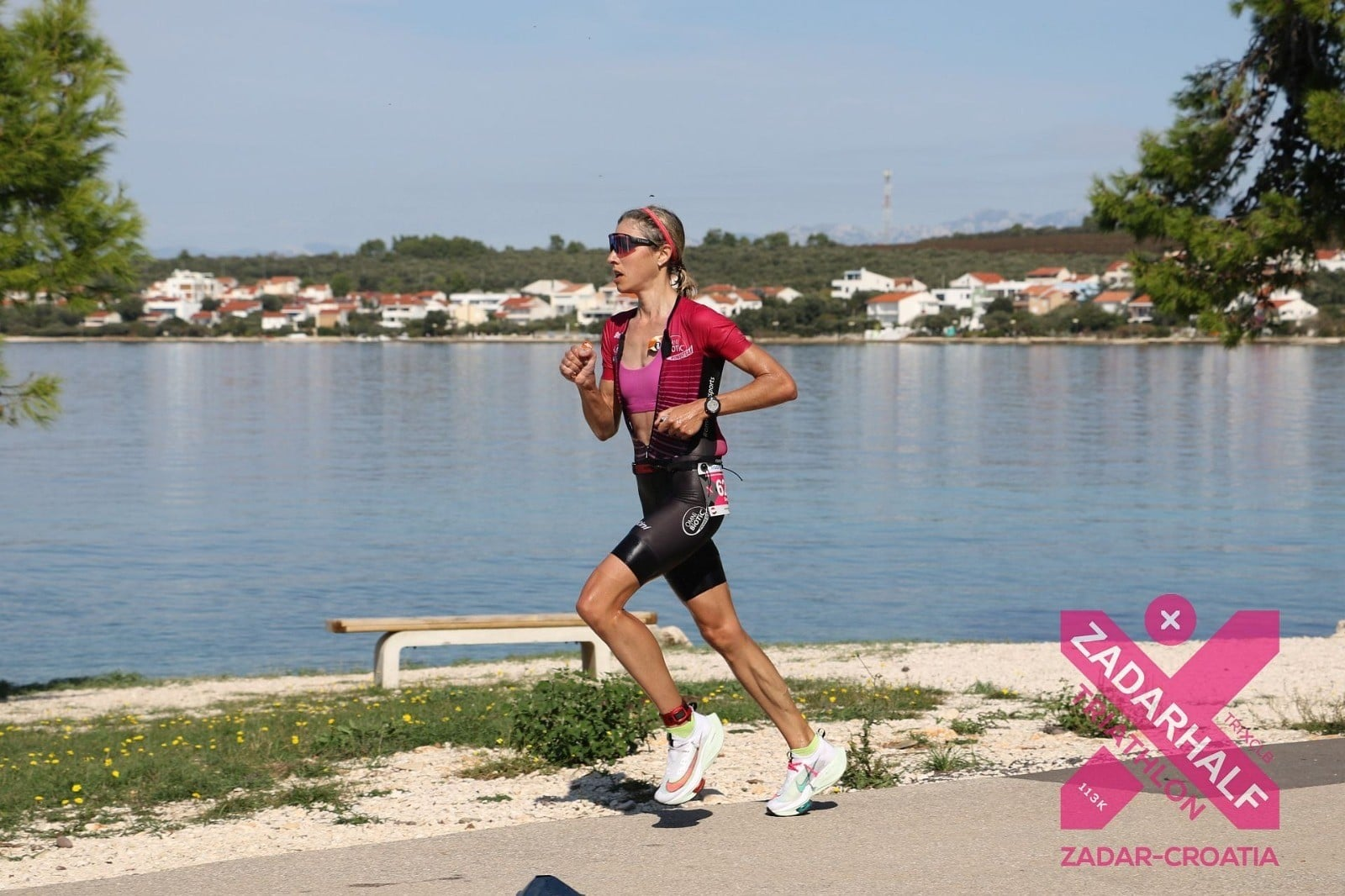 Simone Kumhofer OMNi-BiOTiC® POWER-Team während des Zadar Marathon