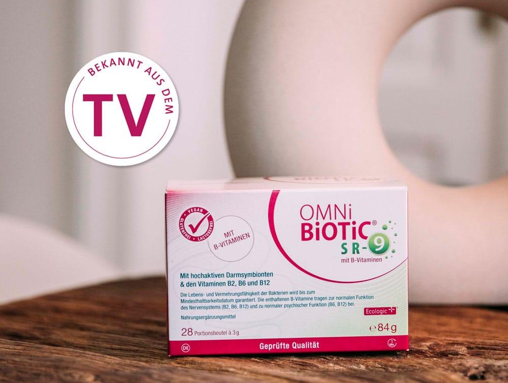 OMNi-BiOTiC® SR-9 mit B-Vitaminen bekannt aus dem TV